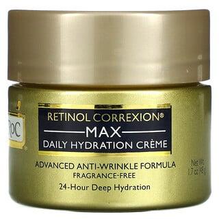RoC, Retinol Correxion, Max Hydration Cream, Fragrance Free, 1.7 oz (48 g)