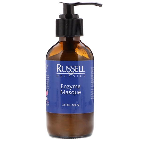 Russell Organics, Enzyme Masque, 4 fl oz (120 ml) (Discontinued Item)