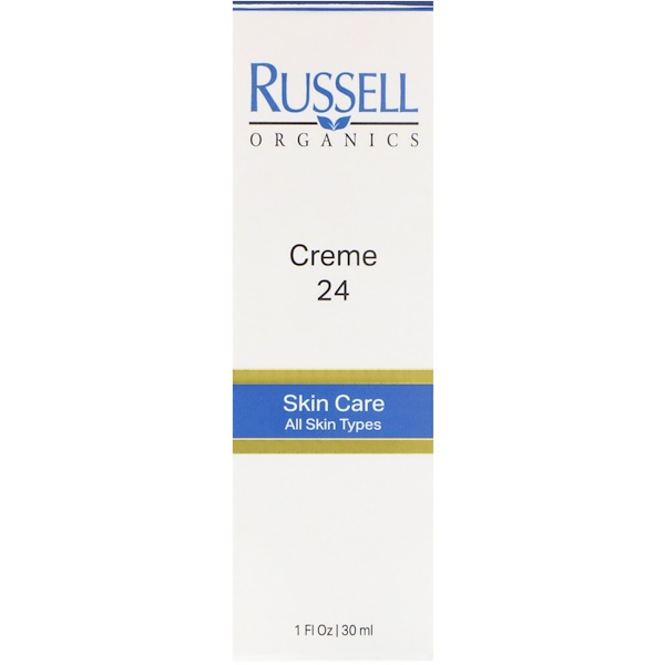 Russell Organics, Creme 24, 1 fl oz (30 ml) (Discontinued Item)