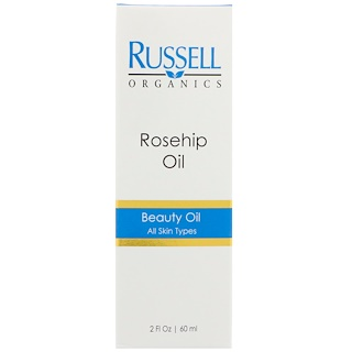 Russell Organics, Rose Hip Oil, 2 fl oz (60 ml)