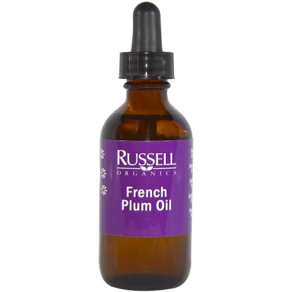 Russell Organics, French Plum Oil, 2 fl oz (60 ml) (Discontinued Item)