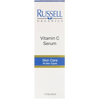 Russell Organics, Vitamin C Serum, 1 fl oz (30 ml)