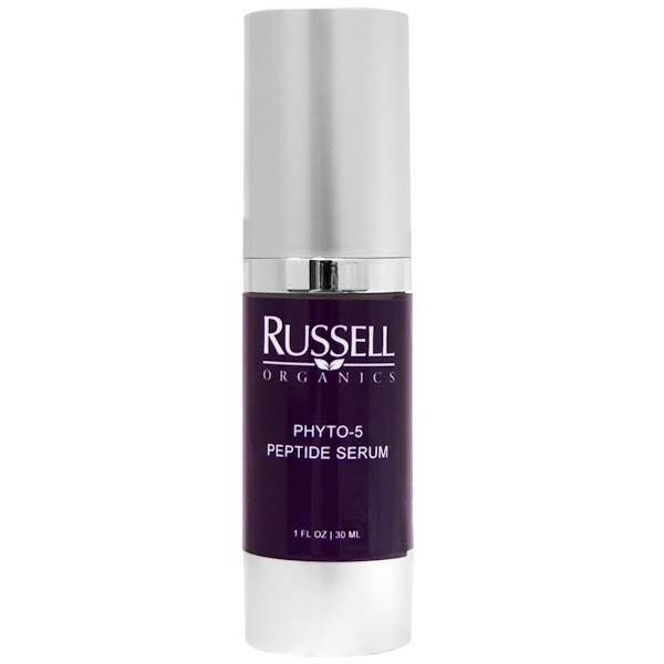 Russell Organics, Phyto-5 Peptide Serum, 1 fl oz (30 ml) (Discontinued Item)
