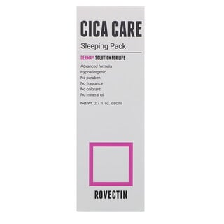 Rovectin, Cica Care Sleeping Pack, 2.7 fl.oz  (80 ml)