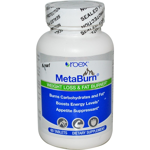 Roex, Inc., MetaBurn, Weight Loss & Fat Burner, 60 Tablets (Discontinued Item)