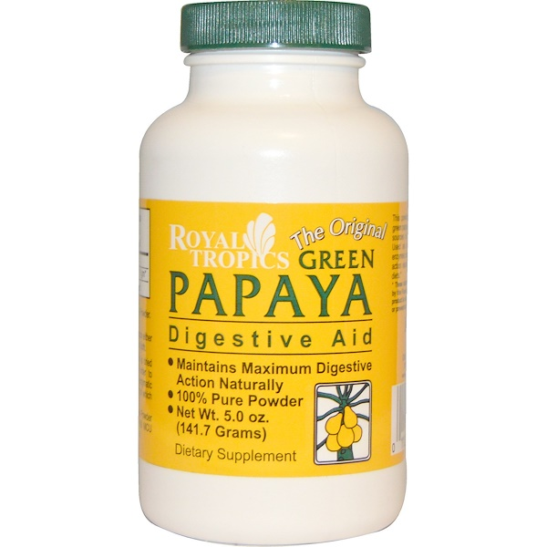 The Original Green Papaya, Digestive Aid, 5.0 oz (141.7 g)