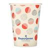 Repurpose, Non Toxic, 12 oz Cups, 18 Count