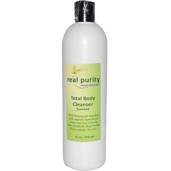 Real Purity, Total Body Cleanser, Scented, 16 oz (472 ml) (Discontinued Item)