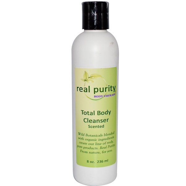 Real Purity, Total Body Cleanser, Scented, 8 oz (236 ml) (Discontinued Item)