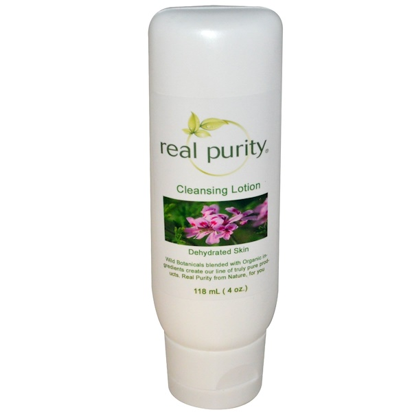 Real Purity, Cleansing Lotion, 4 oz (118 ml) (Discontinued Item)