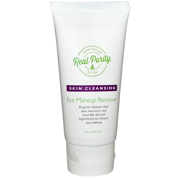Real Purity, Eye Makeup Remover, 2 oz (59 ml) (Discontinued Item)