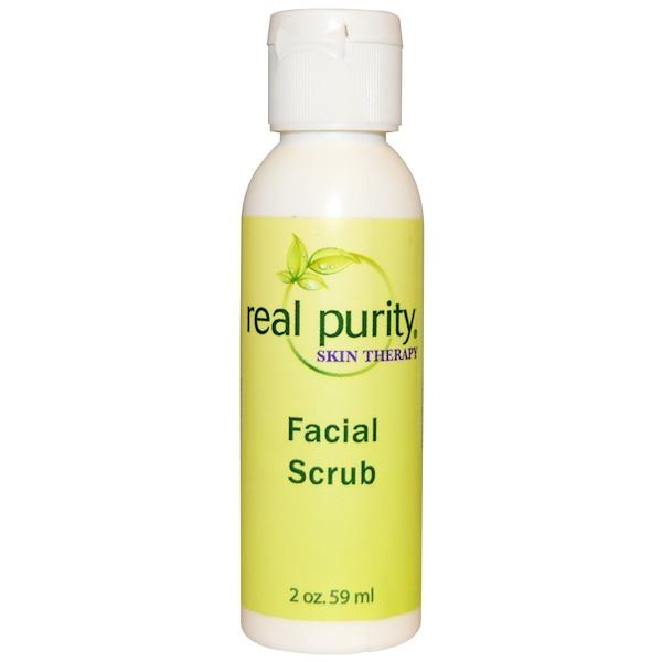 Real Purity, Facial Scrub, 2 oz (59 ml) (Discontinued Item)