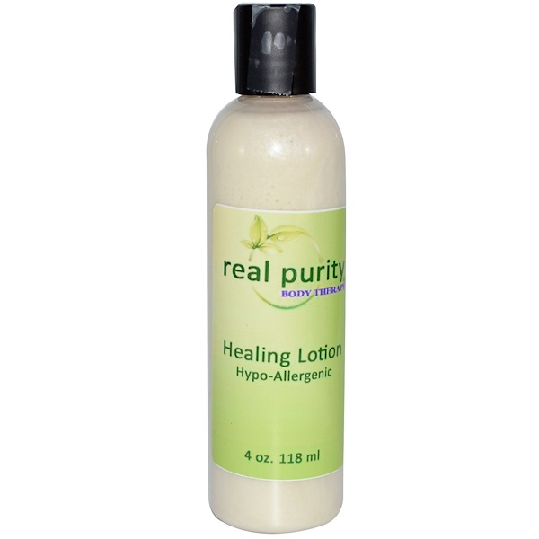 Real Purity, Healing Lotion, 4 oz (118 ml) (Discontinued Item)
