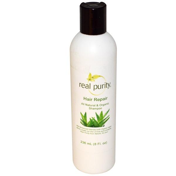Real Purity, Шампунь для восстановления волос 8 жидких унции (236 мл) (Discontinued Item)