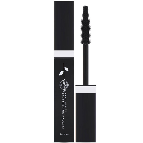 Real Purity, Lengthening Mascara, Black, 1.69 fl oz (Discontinued Item)