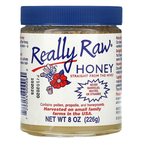 Really Raw Honey, 8 oz (226 g)