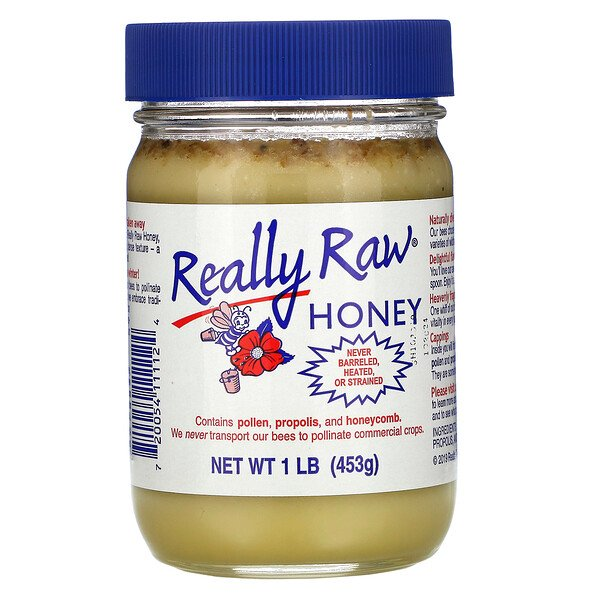 Really Raw Honey, Honey, 1 lb (453 g)