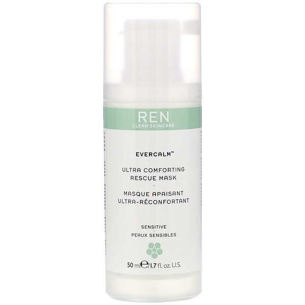 Ren Skincare, EverCalm, Ultra Comforting Rescue Mask, 1.7 fl oz (50 ml (Discontinued Item)