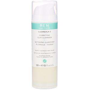 Ren Skincare, ClearCalm 3, Clarifying Clay Cleanser, 5.1 fl oz (150 ml) отзывы