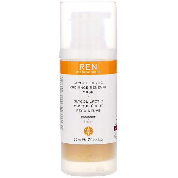 Ren Skincare, Glycol Lactic, Radiance Renewal Mask, 1.7 fl oz (50 ml) (Discontinued Item)