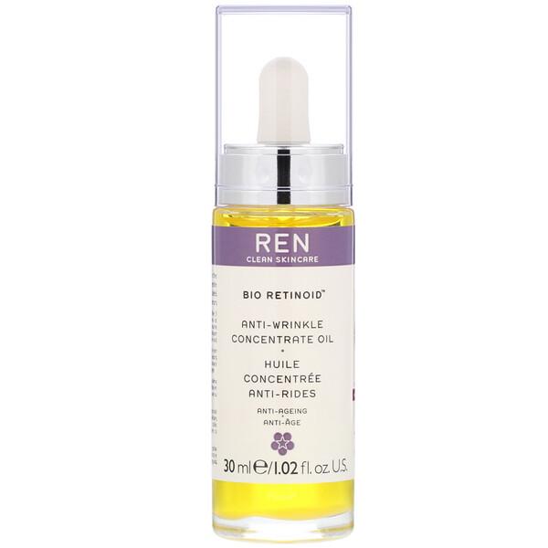 Ren Skincare, Bio Retinoid, Anti-Wrinkle Concentrate Oil, 1.02 fl oz (30 ml) (Discontinued Item)