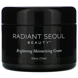 Radiant Seoul, Brightening Moisturizing Cream, 1.7 oz (50 ml)
