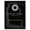 Radiant Seoul, Balancing Charcoal Beauty Sheet Masks, 5 Sheet Masks, 0.85 oz (25 ml) Each