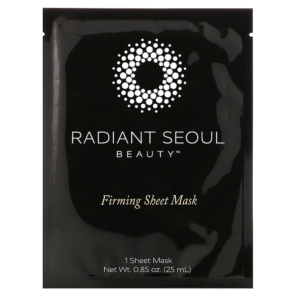 Radiant Seoul, Firming Sheet Mask, 1 Sheet Mask, 0.85 oz (25 ml)
