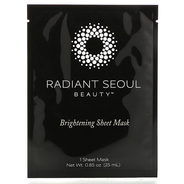 Radiant Seoul, Máscara Facial Clareadora, 1 Máscara Facial, 25 ml (0,85 oz)