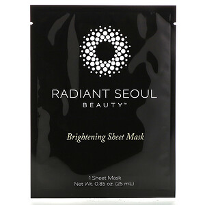 Radiant Seoul, Brightening Sheet Mask, 1 Sheet Mask, 0.85 oz (25 ml) отзывы