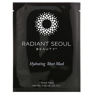 Radiant Seoul, Hydrating Beauty Sheet Mask, 1 Sheet Mask, 0.85 oz (25 ml)