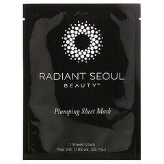 Radiant Seoul, قناع ورقي لبشرة ممتلئة من Beauty، قناع ورقي واحد، 0.85 أونصة (25 مل)