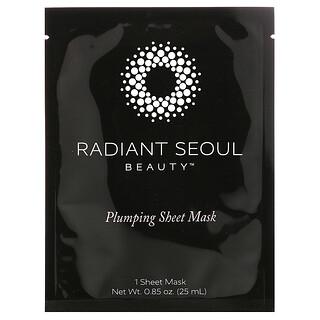 Radiant Seoul, Plumping Beauty Sheet Mask, 1 Sheet Mask, 0.85 oz (25 ml)