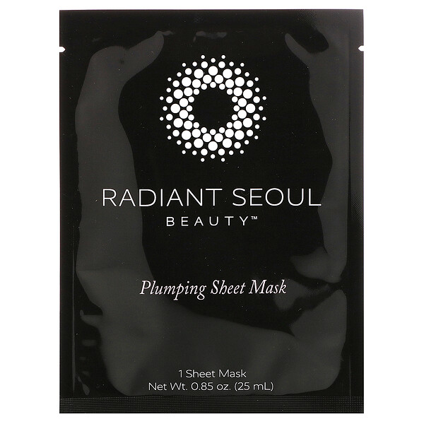 Radiant Seoul, Plumping Sheet Mask, 1 Sheet Mask, 0.85 oz (25 ml)