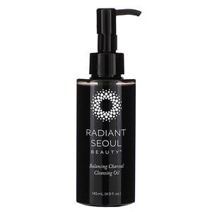 Radiant Seoul, Balancing Charcoal Cleansing Oil, 4.9 fl oz (145 ml) отзывы покупателей