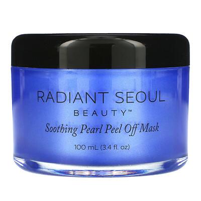 Купить Radiant Seoul успокаивающая маска-пленка с жемчугом, 100мл (3, 4жидк.унции)