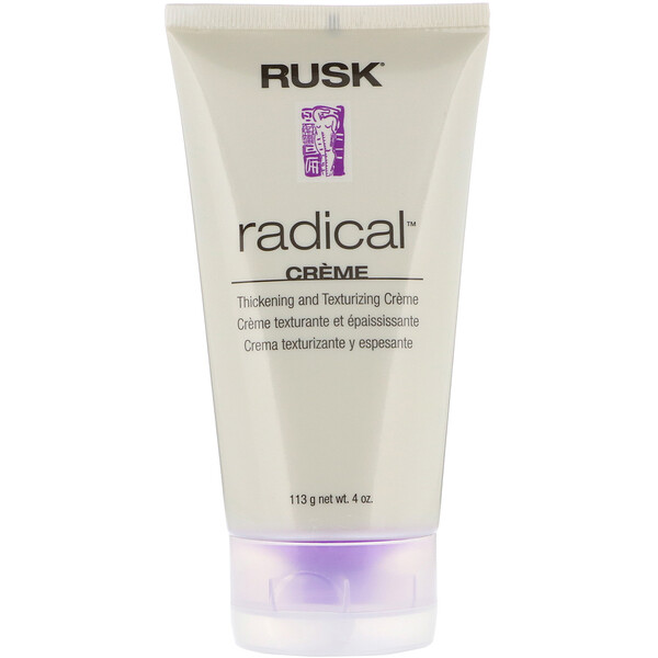 Rusk, Radical, Thickening And Texturizing Creme, 4 oz (113 g) (Discontinued Item)