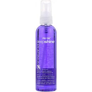 Rusk, Deepshine, Platinum X, Shine Spray, 4 fl oz (118 ml)