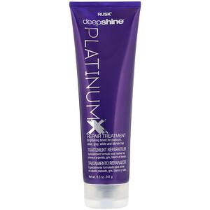Rusk, Deepshine, Platinum X, Repair Treatment, 8.5 oz (241 g) отзывы