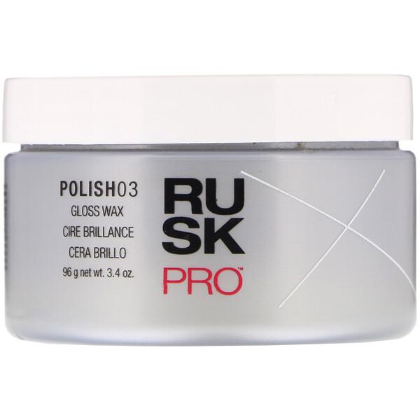 Rusk, Pro, Polish 03, cera com brilho, 96 g (Discontinued Item)