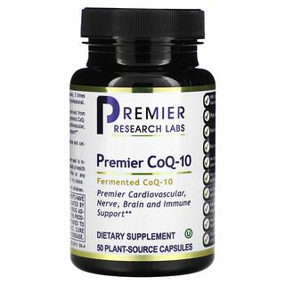 Premier Research Labs, Premier CoQ-10, Fermented, 50 Plant-Source Capsules