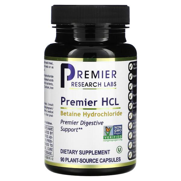 Premier HCL, 90 Plant-Source Capsules