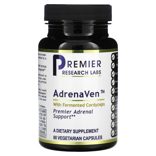 AdrenaVen with Fermented Cordyceps, 60 Vegetarian Capsules