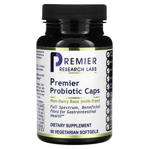 Premier Research Labs, Premier Probiotic Caps, 60 Vegetarian Softgels