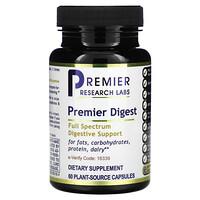 Premier Research Labs, Premier Digest, 60 Plant-Source Capsules