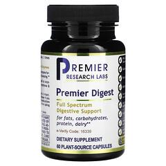 Premier Research Labs, Premier 消化配方,60 粒植物源膠囊