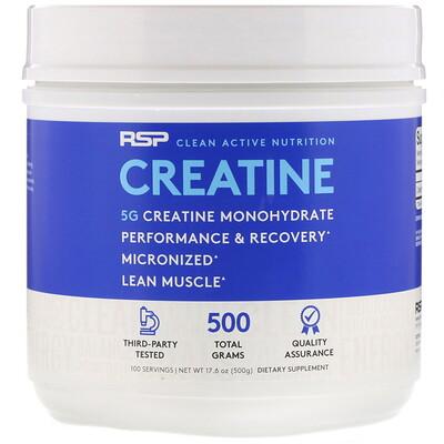 Micronized Creatine Powder, моногидрат креатина, тонкодисперсный порошок креатина, 5 г, 500г (17,6 унций) optimum nutrition creatine powder micronized 600 г