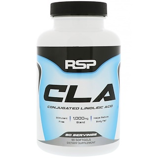 RSP Nutrition, CLA, 90 Softgels
