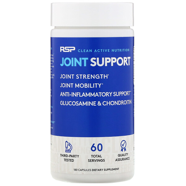 RSP Nutrition, Joint Support, 180 Capsules