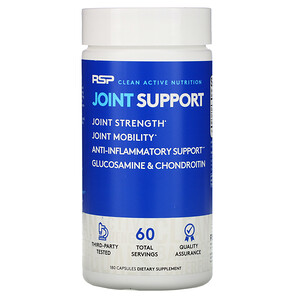 RSP Nutrition, Joint Support, 180 Capsules отзывы